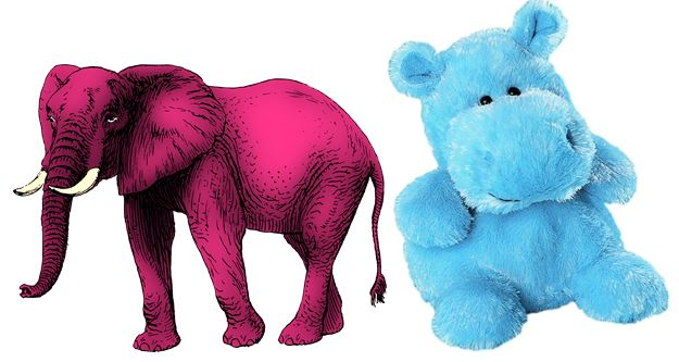 What Do Pink Elephants And Blue Hippos Have To Do With Sports